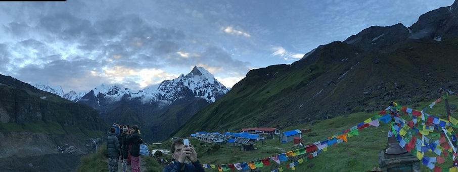 Annapurna base camp view