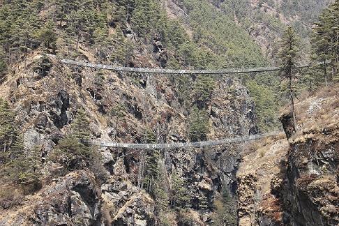 Bridge On Everest Region