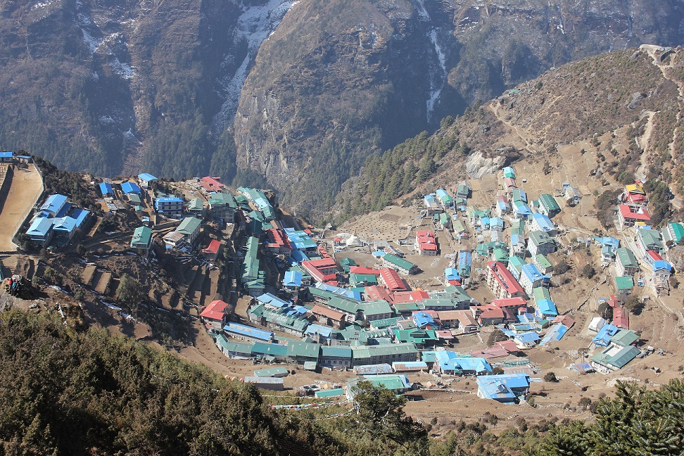 Lukla Valley gaeway to everest