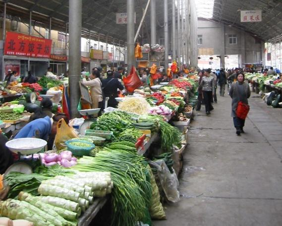 The_farmer's_market_near_the_Potala_in_Lhasa