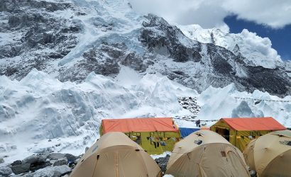 everest base camp tenting camp