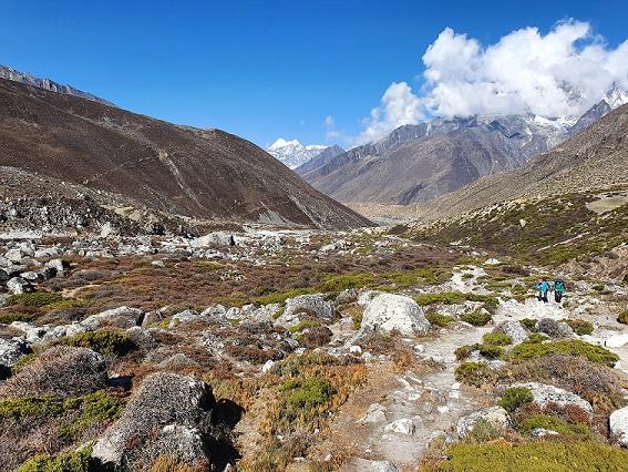 Everest trek at nepal