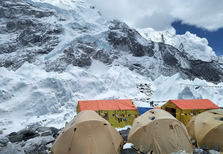 Tent camp at everest base camp